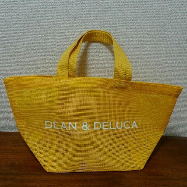 Dean Deluca ディーン デルーカ イエローメッシュトートバッグsサイズの通販 By みぃ S Shop ディーンアンドデルーカ ならラクマ
