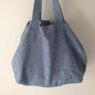ムジルシリョウヒン(MUJI (無印良品))の無印良品 洗いざらしの麻トートバッグ(トートバッグ)