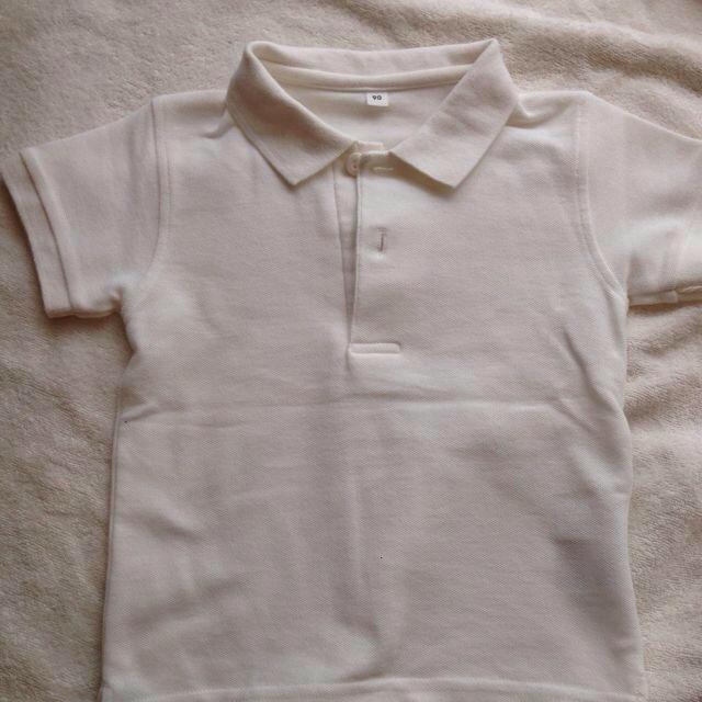 MUJI (無印良品) - シルク100% 無印良品 絹 シャツ M サイズ ネイビー. ポロシャツ