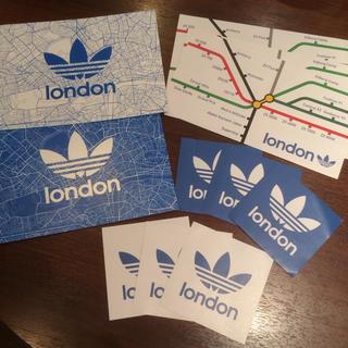 アディダス(adidas)のロンドン♡アディダス♡ステッカー&カード(シール)