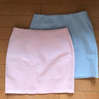 ディーホリック(dholic)の新品未使用💛韓国購入スカート2枚セット(ミニスカート)