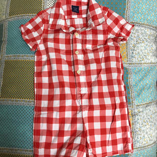 d3515e87d0cea ベビーギャップ(babyGAP)の 美品 GAPシャツロンパース(ロンパース)