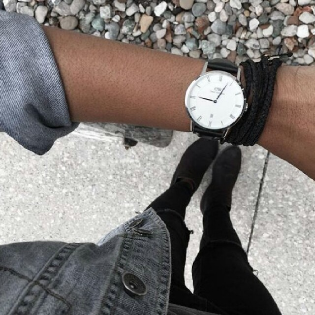 Daniel Wellington(ダニエルウェリントン)の【男性人気No.1✨】DW ダニエルウェリントン  ダッパー ゴールド シルバー メンズの時計(腕時計(アナログ))の商品写真