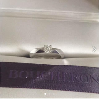 ブシュロン(BOUCHERON)の大幅値下げ☆ブシュロン ダイヤモンドリング プラチナ(リング(指輪))