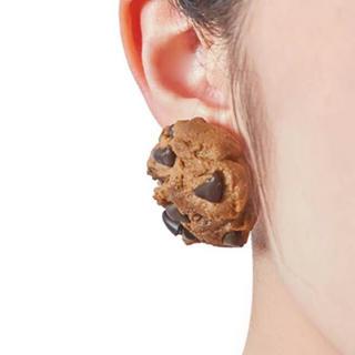 キューポット(Q-pot.)の新品未使用★Q-pot.チョコチップクッキーイヤリング(イヤリング)