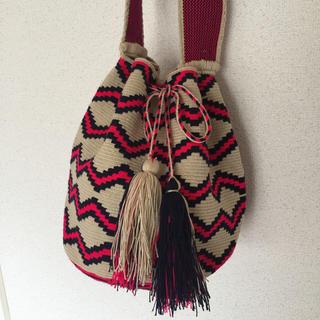 エディション(Edition)のguanabana handmade グアナバナ wayuu bag 巾着バッグ(ショルダーバッグ)