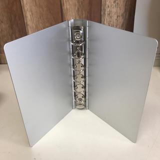 ムジルシリョウヒン(MUJI (無印良品))の無印良品 手帳カバー アルミ(その他)