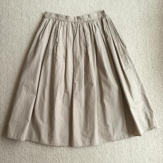 ロペピクニック(Rope' Picnic)のロペピクニック ベージュスカート(ひざ丈スカート)