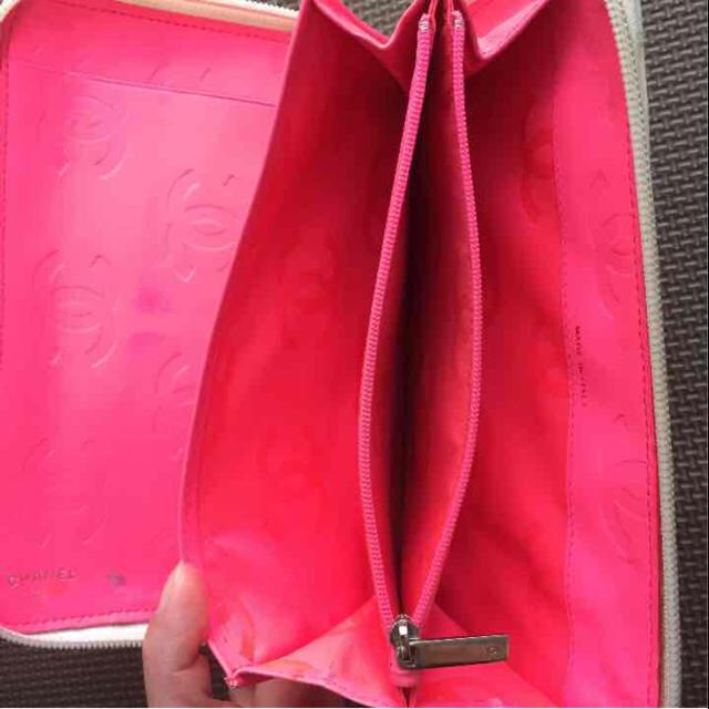 CHANEL(シャネル)のCHANEL♡長財布♡カンボンライン♡ レディースのファッション小物(財布)の商品写真
