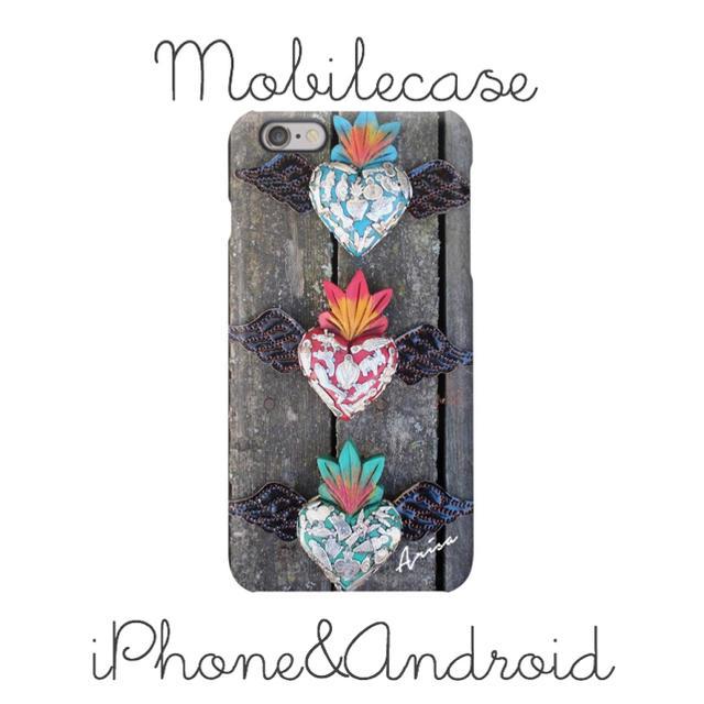 iphone 7 ケース 手帳 | 名入れ可能♡メキシカン木目柄スマホケース♡iPhone以外も対応機種多数あり♡の通販 by welina mahalo|ラクマ