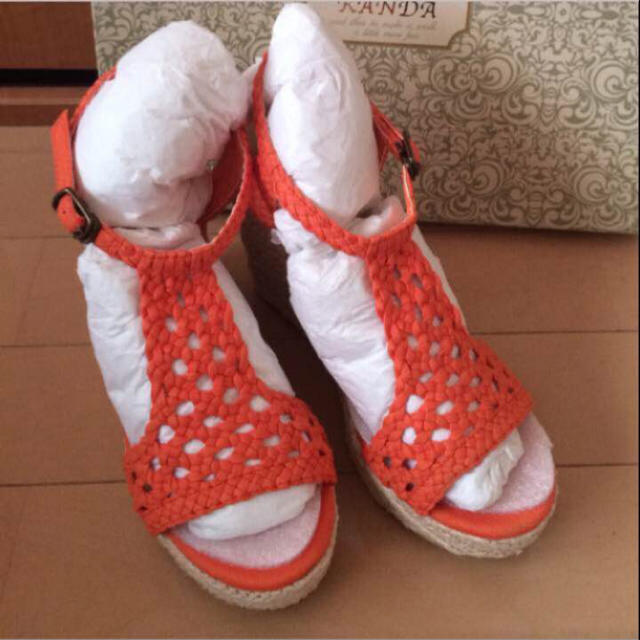RANDA(ランダ)の新品RANDAサンダル moussy.ZARA.INGNI.リエンダ.GU レディースの靴/シューズ(サンダル)の商品写真