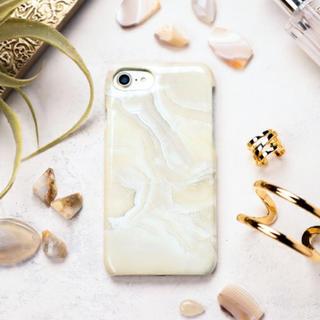パピヨネ(PAPILLONNER)のPAPILLONNER 大理石風iPhoneケース(iPhoneケース)