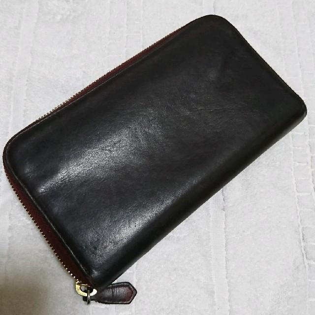 PRADA(プラダ)のPRADA 革 ジップ式長財布  レディースのファッション小物(財布)の商品写真