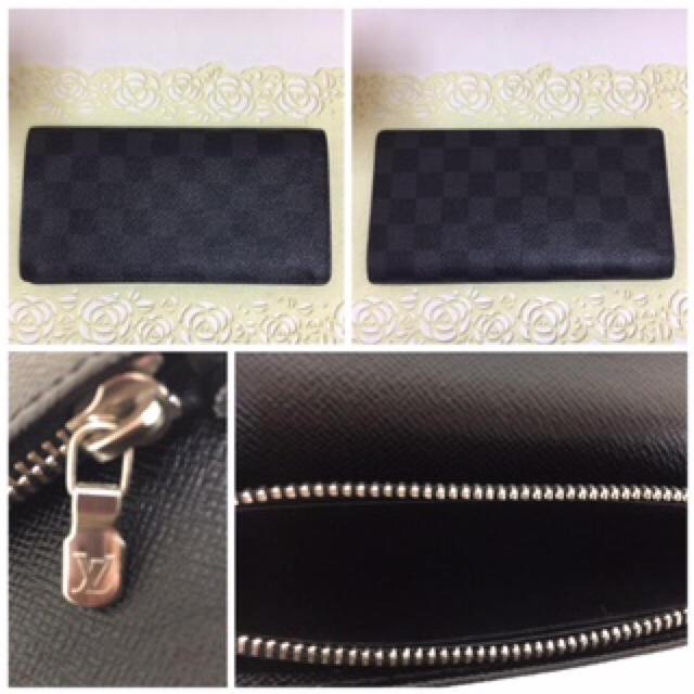 LOUIS VUITTON(ルイヴィトン)のリクさん専用ルイヴィトン ダミエ グラフィット ブラザ 長財布☆ レディースのファッション小物(財布)の商品写真