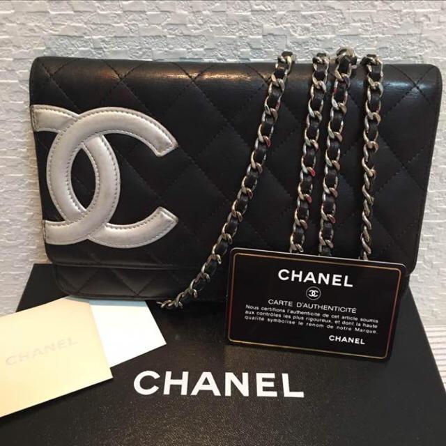 CHANEL(シャネル)のCHANEL シャネル チェーンウォレット レディースのファッション小物(財布)の商品写真