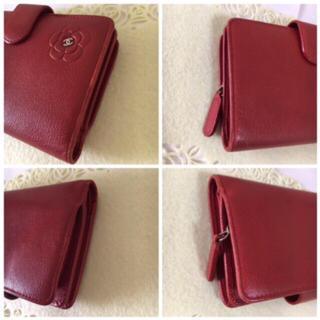 CHANEL(シャネル)の☆ シャネル  カメリア  2つ折り財布  ☆ レディースのファッション小物(財布)の商品写真