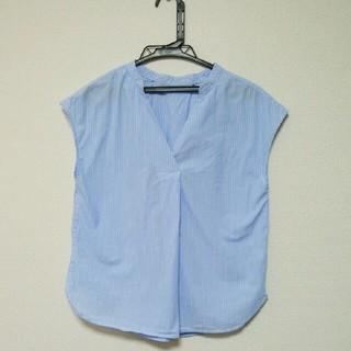 ジーユー(GU)の【GU】ストライプキッパーシャツ (シャツ/ブラウス(半袖/袖なし))