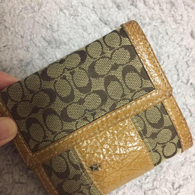 COACH(コーチ)のコーチ 正規品 中古財布 レディースのファッション小物(財布)の商品写真