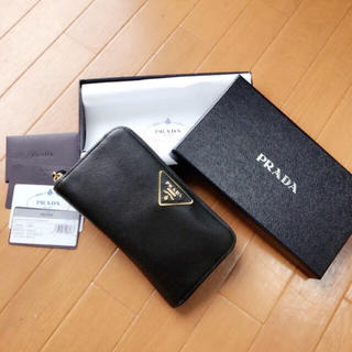 PRADA(プラダ)のPRADA★長財布[正規品] レディースのファッション小物(財布)の商品写真