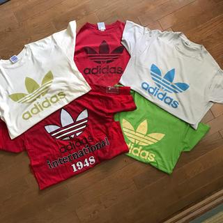 アディダス(adidas)のadidasビンテージTEEセット(Tシャツ/カットソー(半袖/袖なし))