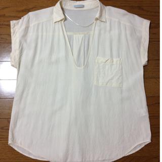ジーユー(GU)のg.u. ブラウス(シャツ/ブラウス(半袖/袖なし))