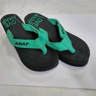 アナップ(ANAP)のANAP 厚底 ビーチサンダル ビーサン(ビーチサンダル)