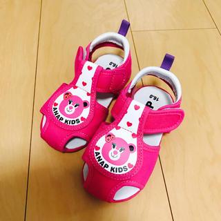 アナップキッズ(ANAP Kids)のANAP♡kids♡サンダル♡16センチ(サンダル)