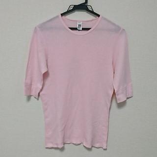 アメリカンアパレル(American Apparel)のAmericanApparel メンズ サマーニット七分袖(Tシャツ/カットソー(半袖/袖なし))
