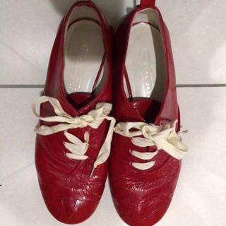 マークジェイコブス(MARC JACOBS)のマークジェイコブス エナメルシューズ(ローファー/革靴)