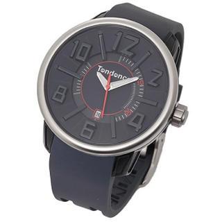 テンデンス(Tendence)のテンデンス  TG730004 ガリバーG-47 ブラック ユニセックス 腕時計(腕時計(アナログ))