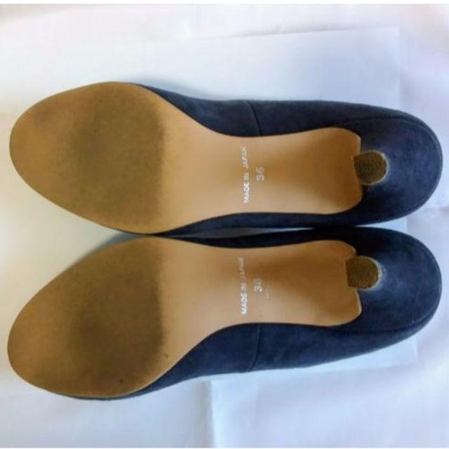 Staircase ステアケース パンプス 日本製 本革 羊革 グレー レディースの靴/シューズ(ハイヒール/パンプス)の商品写真