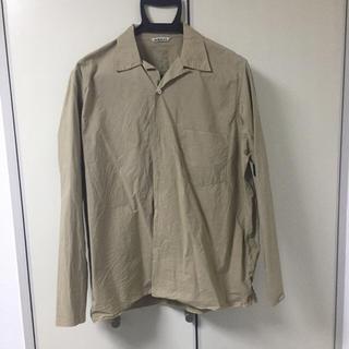 ヤエカ(YAECA)のauralee SELVEDGE WEATHER CLOTH SHIRTS (シャツ)