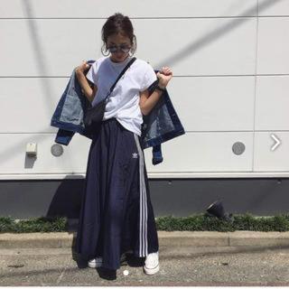 アディダス(adidas)の国内正規☆アディダスadidas ロングスカート☆M☆新品(ロングスカート)