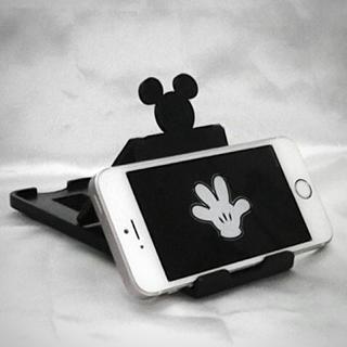 ディズニー(Disney)のミッキー スマホ スタンド 12段階調整 / タブレットスタンド(その他)