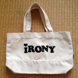 アイロニー(IRONY)のnatsumiさまお取り置き中4/3まで(トートバッグ)