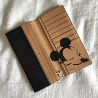 ディズニー(Disney)のしぃーか様専用【ほぼ新品】ミッキー 長財布(長財布)