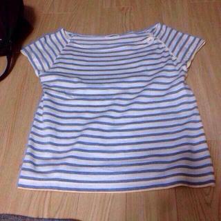 シップスフォーウィメン(SHIPS for women)のGW最終値下げ!shipsボーダーtee(Tシャツ(半袖/袖なし))