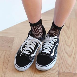 スタイルナンダ(STYLENANDA)の網ソックス フィッシュネットソックス 靴下 韓国(靴下/タイツ)