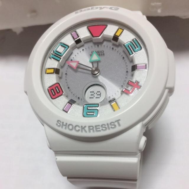 finest selection 9536d 1058d ベビージー Baby-G 白 | フリマアプリ ラクマ