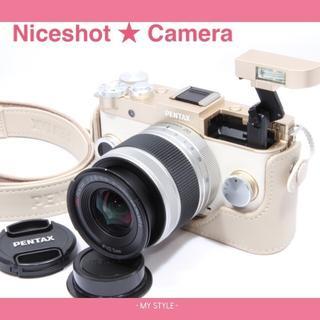 ペンタックス(PENTAX)のこの夏は素敵なカメラと一緒にペンタックスQ-s1Wi-Fiカード付き(ミラーレス一眼)