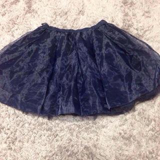 マーキュリーデュオ(MERCURYDUO)の値下げMERCURYオーガンジースカート(ミニスカート)