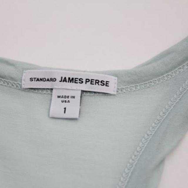 JAMES PERSE(ジェームスパース)のJAMES PERSE タンクトップ ミントブルー アメリカ製 1  レディースのトップス(タンクトップ)の商品写真
