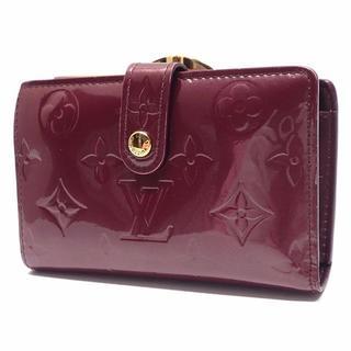 ルイヴィトン(LOUIS VUITTON)のA145 美品 ルイヴィトン ヴェルニ ポルトフォイユ ヴィエノワ ヴィオレット(財布)