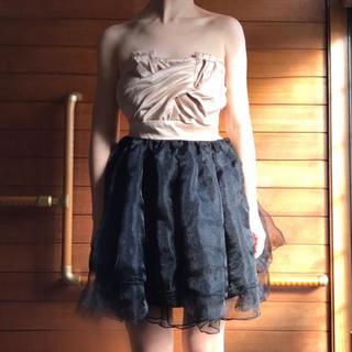 アナップ(ANAP)のおすすめ✔️パーティードレス チュール ドレス ワンピ(ひざ丈ワンピース)