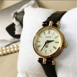 9e5d8ca711ec グッチ ヴィンテージ 腕時計(レディース)(レッド/赤色系)の通販 100点 ...