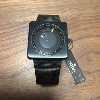 ヌーン(noon)の【未使用】noon腕時計(金属ベルト)