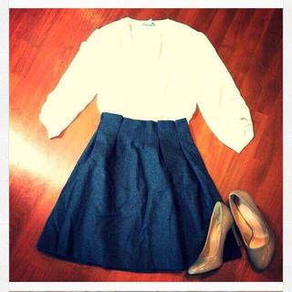 トランテアンソンドゥモード(31 Sons de mode)のプリーツスカート♡(ひざ丈スカート)