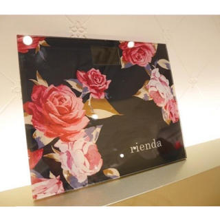 リエンダ(rienda)の店舗限定♡ノベルティ♡ヴィンテージローズ スケール♡体重計♡rienda(体重計)