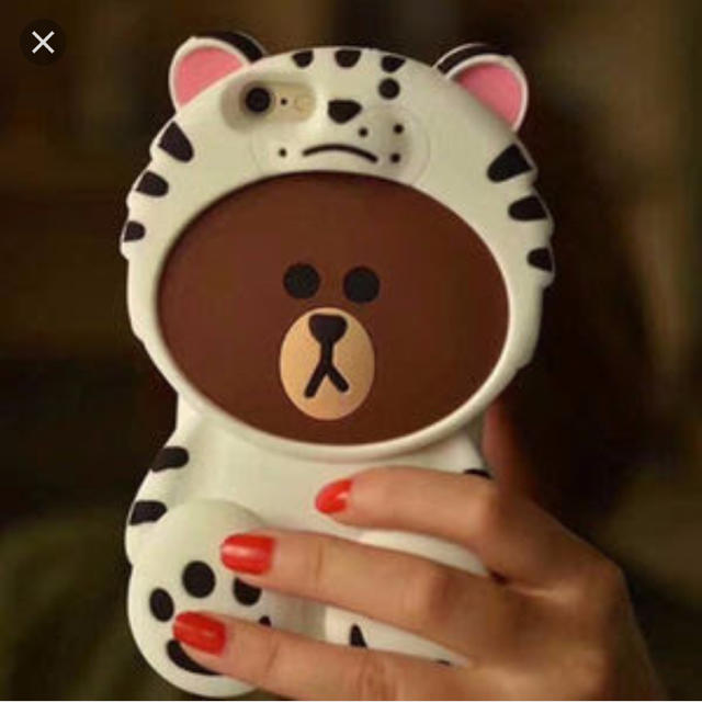 ミュウミュウ iphone7plus ケース 本物 | lv_bayasun様専用 LINE ブラウン iphone7 ケースの通販 by ゆゆ's   shop|ラクマ