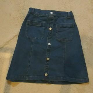 ジーユー(GU)の新品未使用★GUのデニムスカート(スカート)